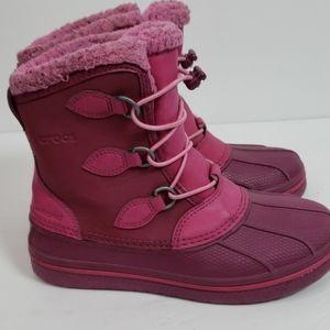 Crocs snowboots sz 2
